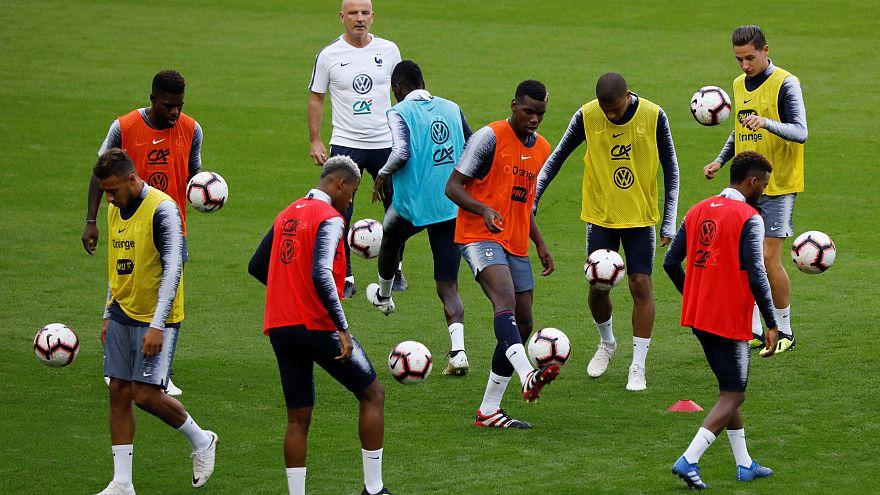 Football : les Bleus retrouvent leur public