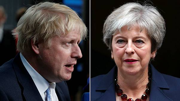 British PM's Brexit plan a 'suicide vest', says ex-foreign secretary Boris Johnson