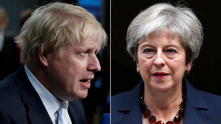 British PM's Brexit plan a 'suicide vest', says ex-foreign secretary Boris Johnson