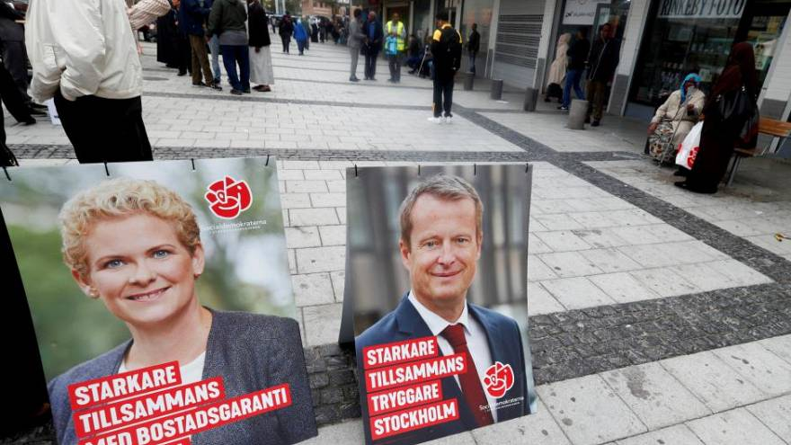 Schweden wählt an diesem 9.9. - Mehr Infos im Liveticker