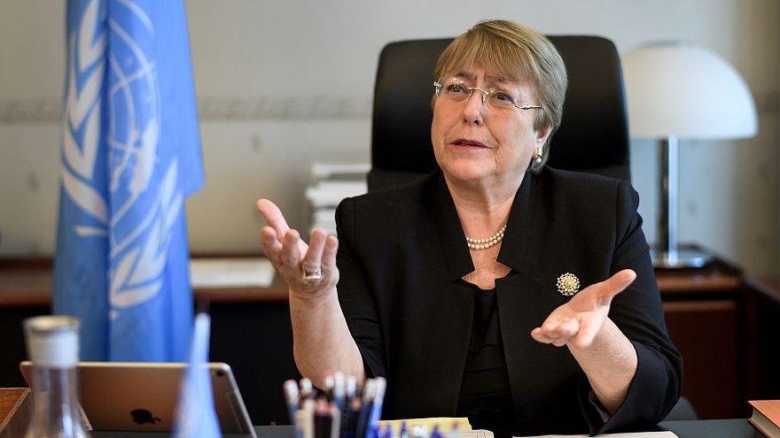 ميشيل باشليه مفوضة الأمم المتحدة لحقوق الإنسان