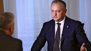 Moldova Cumhurbaşkanı Igor Dodon kaza geçirdi