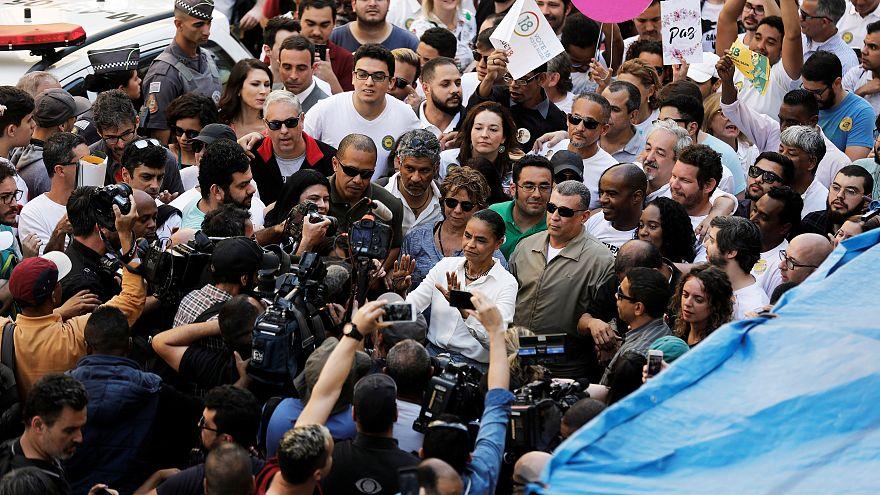 Marcha pela paz no Brasil