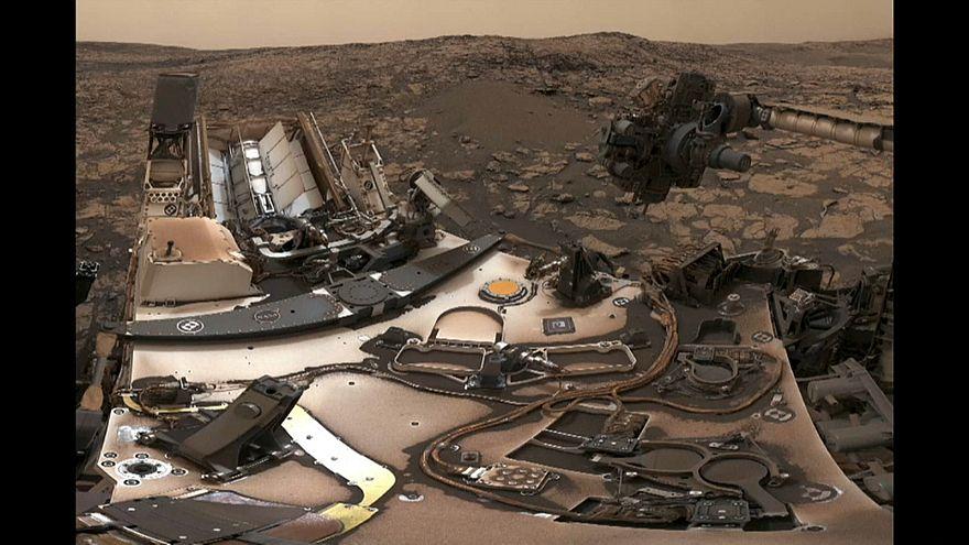 """""""Curiosity"""" schickt Selfie vom Mars"""