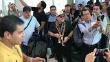 Maradona arrives to begin new job as head coach of second-tier Mexican club