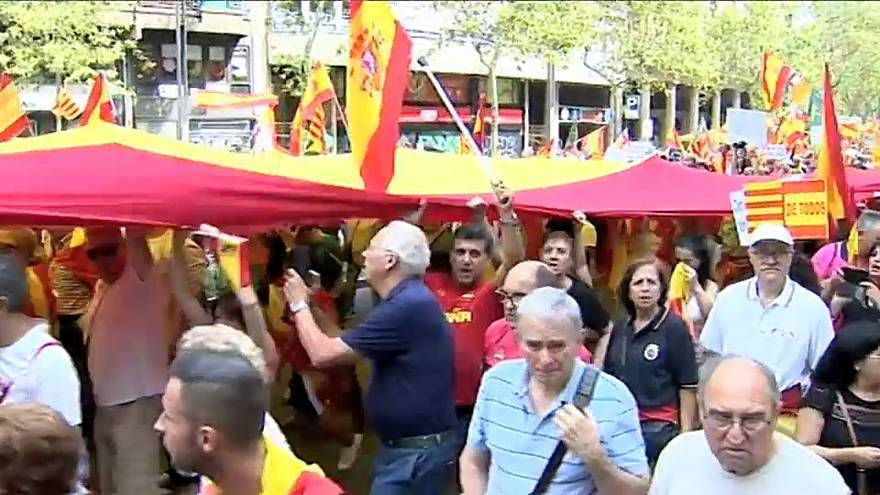 Aumenta la tensión en Barcelona a 48 horas de la Diada