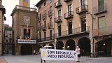 Guerra de lazos en Cataluña