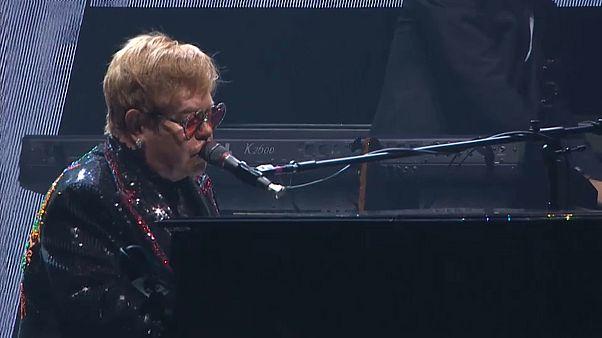 Gestartet: Elton John  drei Jahre auf Abschiedstour