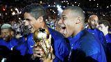 Football : la belle soirée des champions du monde