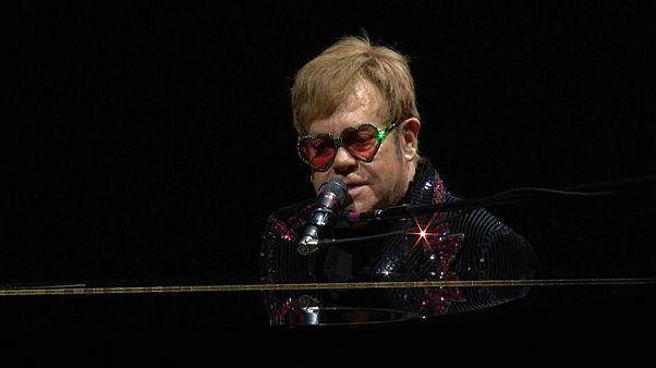 Elton Jonh começou digressão de despedida
