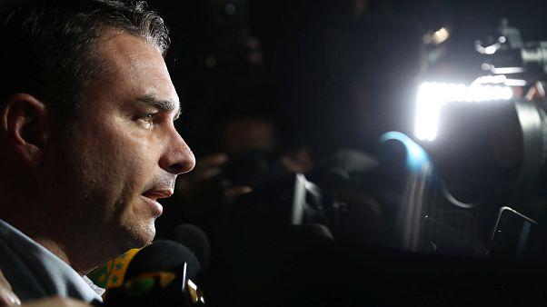 Flavio Bolsonaro, son of presidential candidate Jair Bolsonaro