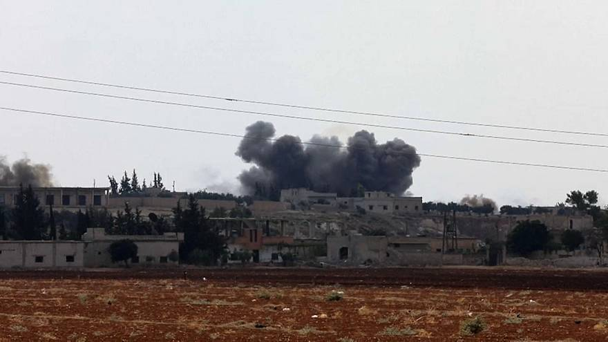 Bombenangriffe auf Idlib