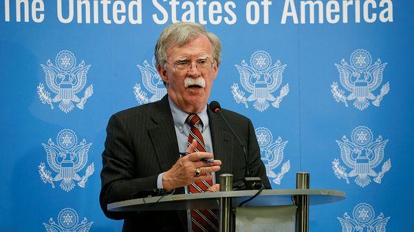 Bolton: Suriye kimyasal silah kullanırsa yanıt verme konusunda Washington, Londra ve Paris anlaştı