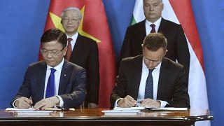 Orbán: Vietnám sikere biztató Magyarországnak