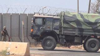 Türkiye'den Suriye sınırına askeri takviye