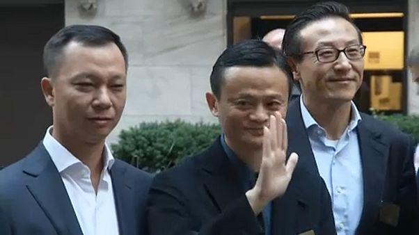 Távozik az Alibaba alapító elnöke