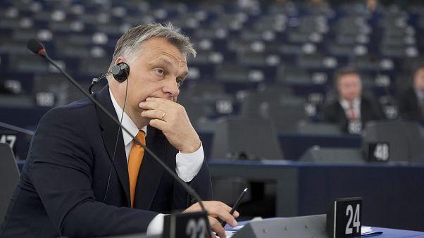 Orbán Viktor Strasbourgban 2015. május 19-én