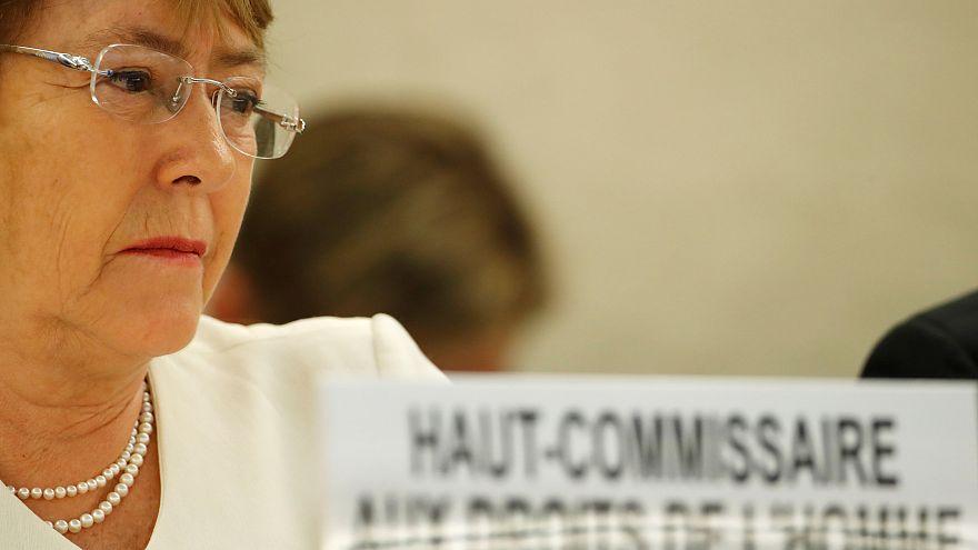 میشل باشله، رئیس کمیساریای عالی حقوق بشر سازمان ملل متحد