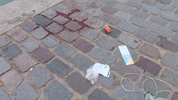 Attaque au couteau à Paris : l'assaillant en garde à vue
