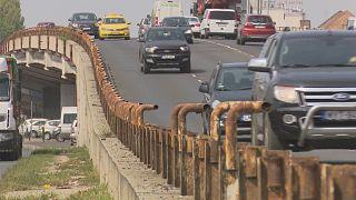 La red vial húngara, en muy mal estado