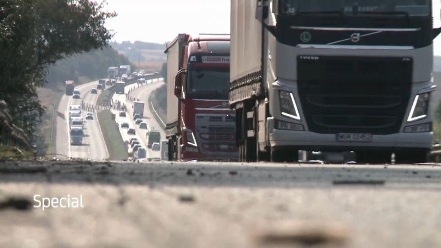 Será que o estado das infraestruturas rodoviárias da Europa é satisfatório?