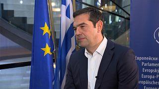"""Алексис Ципрас: """"Греция выходила из кризиса дольше других""""."""