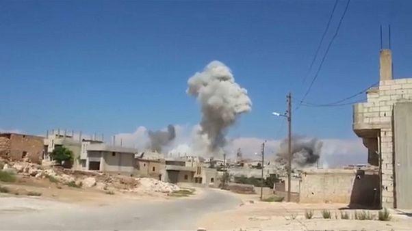 BM: Bir haftada 30 bin kişi İdlib'i terk etti