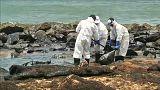 Olajvezetékből ömlött a tengerbe az olaj Srí Lankán