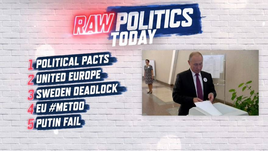 Raw Politics: pre-election alliance-making, Sweden vote analysis and sexual harassment in parliament