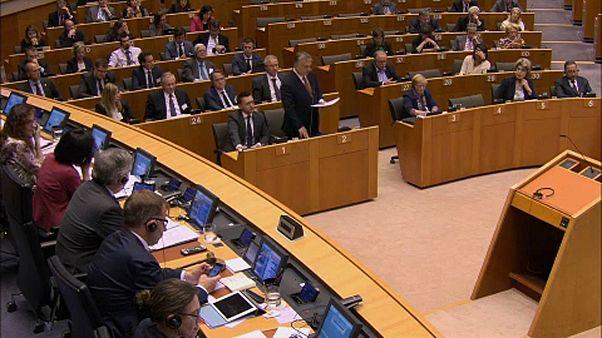 A magyar kormány az Európai Parlament előtt