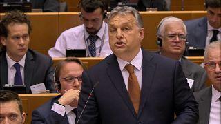 La Eurocámara pone a Hungría en aprietos