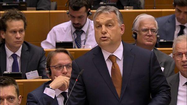 Hungria sob pressão no Parlamento Europeu