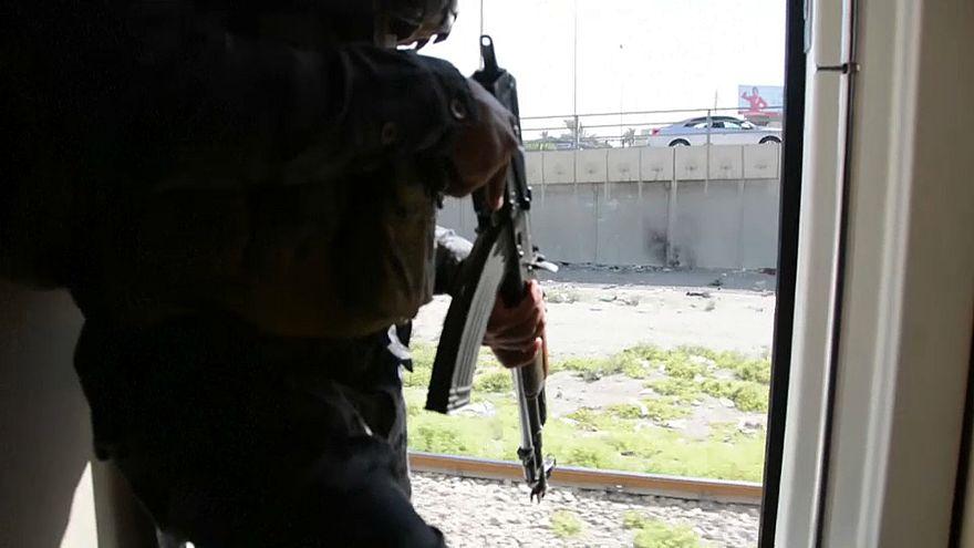 Comboio volta a andar no Iraque