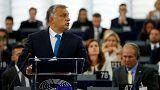 Hungría se defiende en la Eurocámara