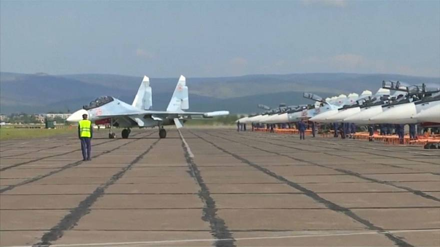 Russia holds biggest military drills since Soviet era