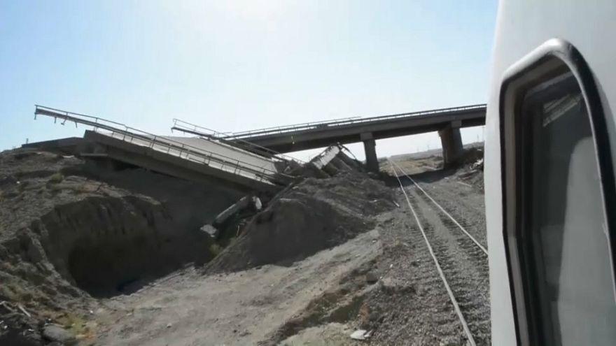 Bagdad-Falludscha: Zugstrecke im Irak wiedereröffnet