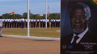 Hazaszállították Ghánába Kofi Annan földi maradványait