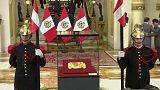 Peru feiert Rückkehr gestohlener Goldmaske