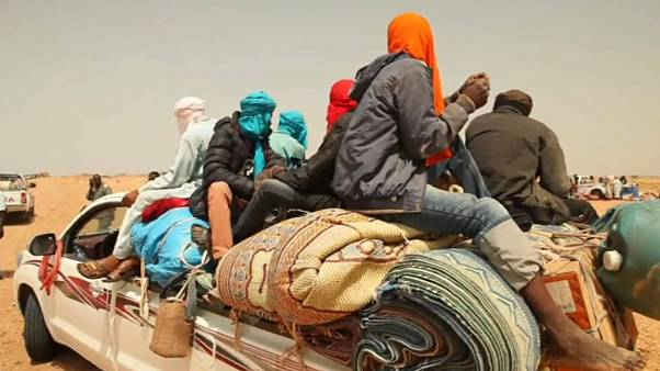 Migrants stranded in Niger tell of struggles to reach Europe