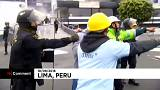 Soccer fans fight church-goers in Peru stadium land dispute