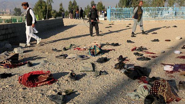 Afganistan'da intihar saldırısında ölenlerin sayısı 68'e yükseldi
