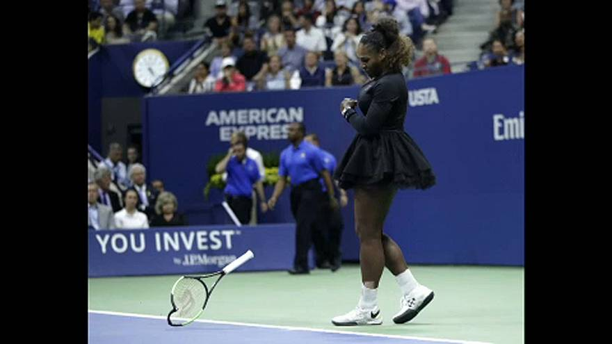 Viharrá dagad a Serena Williams-balhé