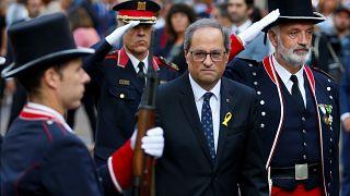 """Catalogna in piazza per l'indipendenza: """"Diamo voce ai politici in prigione"""""""
