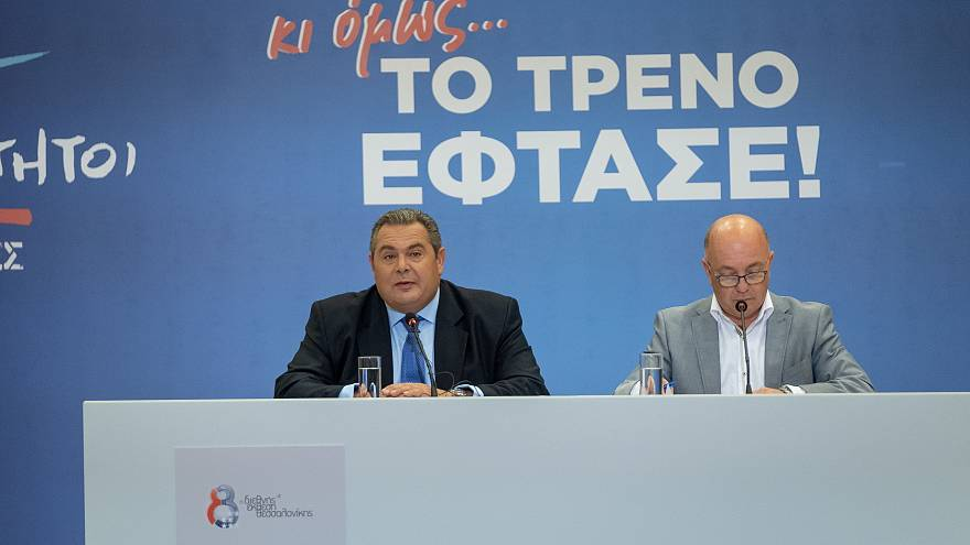 Καμμένος: «Δεν έχουμε λαϊκή εντολή να ψηφίσουμε τη συμφωνία των Πρεσπών»