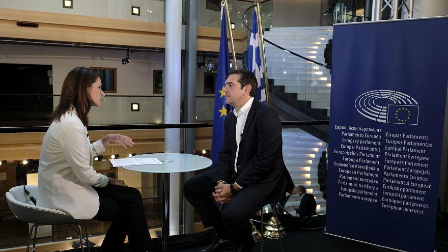 Αλέξης Τσίπρας εφ' όλης της ύλης στο Euronews