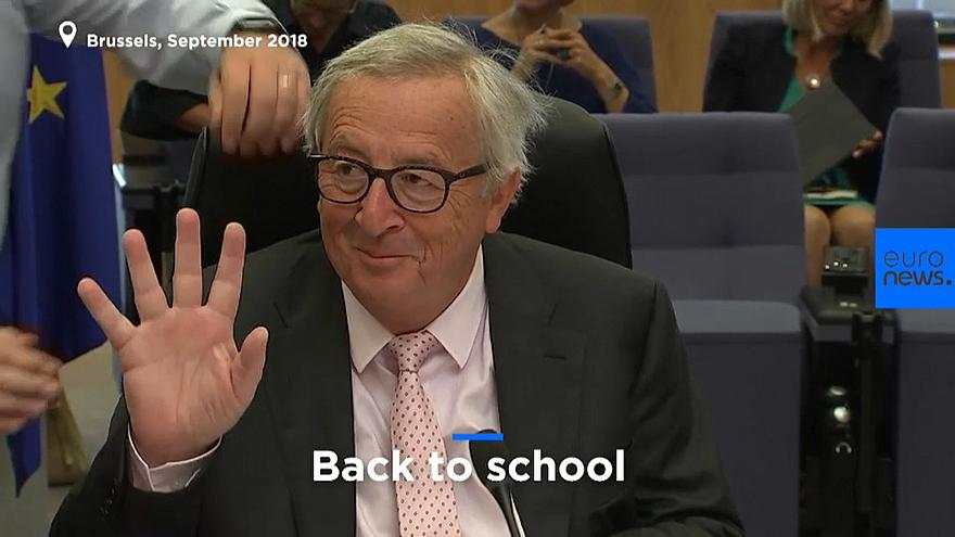State of the Union: Juncker waves difficult year away