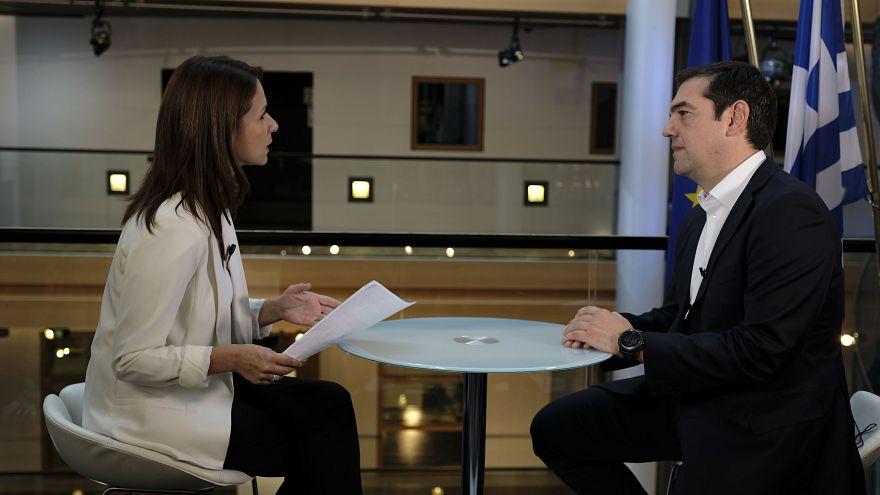 Σε λίγο: Ο Αλέξης Τσίπρας «ανοίγει τα χαρτιά του» στο euronews