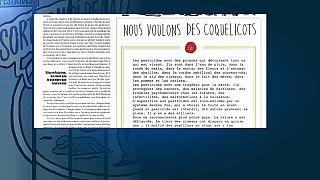"""""""Nous voulons des coquelicots"""" : pour l'interdiction des pesticides"""