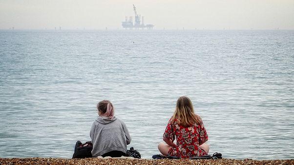 """شاطئ مخصص """"للسيدات فقط"""" في لبنان"""