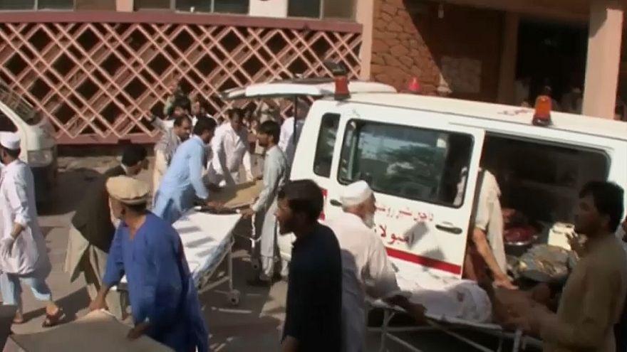 Взрыв на митинге в Афганистане